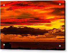 Sunset Wow2 Acrylic Print