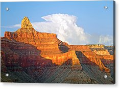 Sunset Zoroaster Temple Grand Canyon Acrylic Print