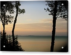 Sunsets On The Bay Of Fundy Acrylic Print