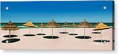 Sunshade Island Acrylic Print