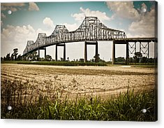 Sunshine Bridge Mississippi Bridge Acrylic Print