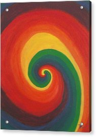 Acrylic Print featuring the painting Sunshine Daydream by Thomasina Durkay