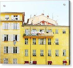 Sunshine House Acrylic Print by Lupen  Grainne