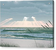 Sunshine In The Morning Acrylic Print by Lee Farley