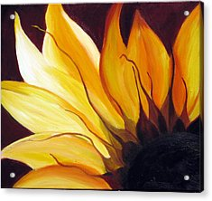 Sunshine Acrylic Print by Sheri  Chakamian