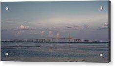 Sunshine Skyway Bridge Acrylic Print
