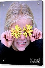 Sunshine Smile Acrylic Print