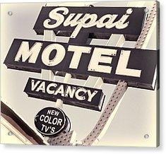 Supai Motel Acrylic Print