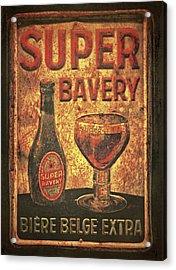 Super Bavery Acrylic Print by Odd Jeppesen