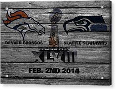 Super Bowl Xlviii Acrylic Print