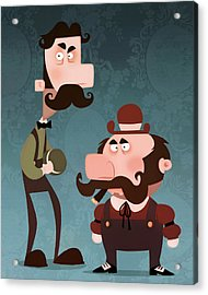 Super Bros. Acrylic Print by Adam Ford