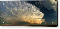 Super Cell On The Prairies Acrylic Print