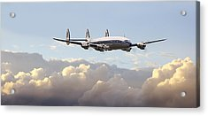 Super Constellation - End Of An Era Acrylic Print by Pat Speirs