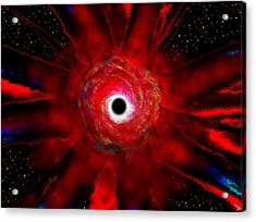 Super Massive Black Hole Acrylic Print