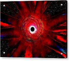 Super Massive Black Hole Acrylic Print