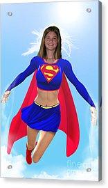 Super Nina Acrylic Print by Allan  Hughes