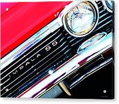 Super Sport 2 - Chevy Impala Classic Car Acrylic Print by Sharon Cummings