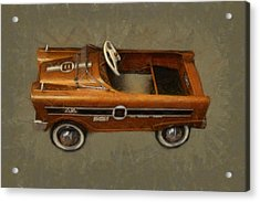 Super Sport Pedal Car Acrylic Print by Michelle Calkins