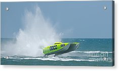 Superboats - Miss Geico Acrylic Print