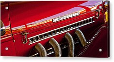 Supercharged Candy Apple Acrylic Print
