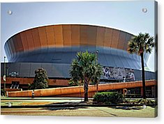 Superdome Acrylic Print by Steve Harrington