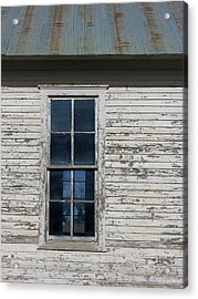 Superior Schoolhouse Window Acrylic Print