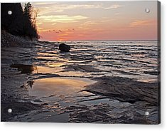 Superior Sunset  Acrylic Print