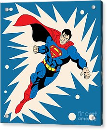 Superman 8 Acrylic Print