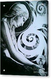 Supernatural Acrylic Print by Ottilia Zakany