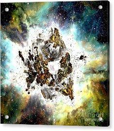 Supernova Acrylic Print by Bernard MICHEL