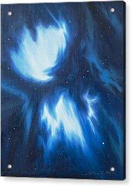 Supernova Explosion Acrylic Print by James Christopher Hill