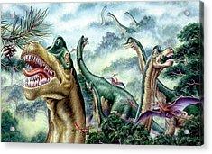 Supersaurus Dinosaurs Acrylic Print