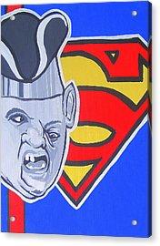 Supersloth Acrylic Print by Gary Niles