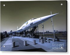 Supersonic  Acrylic Print by Rob Hawkins