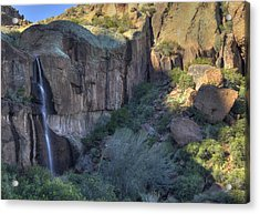 Superstition Falls Acrylic Print