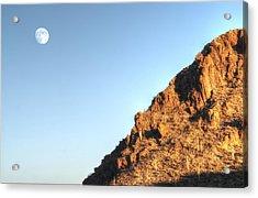 Superstition Mountain Acrylic Print by Lynn Geoffroy