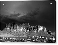Superstition Mountain Acrylic Print by Maxwell Amaro