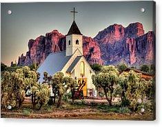 Superstitious Faith Acrylic Print