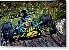 Superswede Acrylic Print by Jose Mendez