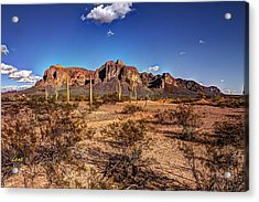 Supes Wide Acrylic Print by George Lenz