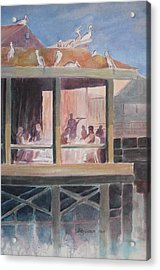 Supper Time Acrylic Print