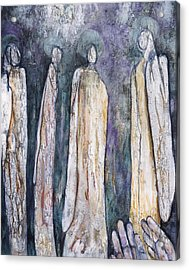 Supplication Acrylic Print by Nancy Smith