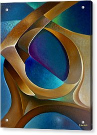 Support Acrylic Print by Claudia Goodell