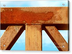 Acrylic Print featuring the photograph Support by Cristophers Dream Artistry