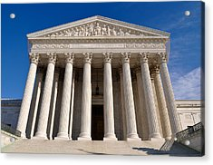 Supreme Court Of United States Of America Acrylic Print