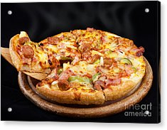 Supreme Hot Pizza  Acrylic Print