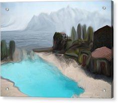 Sur La Mer  C#  72 Acrylic Print