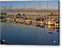 Acrylic Print featuring the photograph Sur La Mer by Gary Holmes