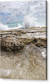 Surf And Turf Acrylic Print by Kerry Lapcevich