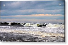 Acrylic Print featuring the photograph Surf City Surf by Mark Miller